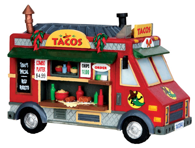 Taco Food Truck Lemax Village