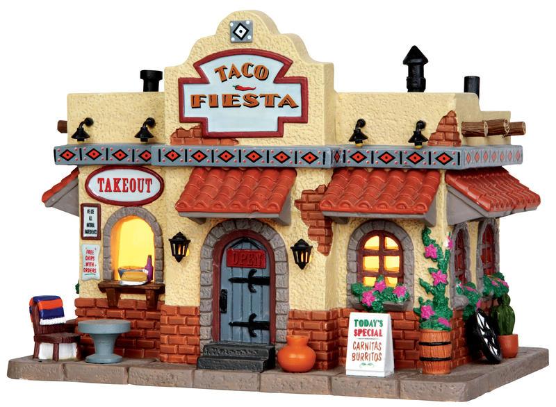 Taco Shop - Taco Fiesta Lemax Village