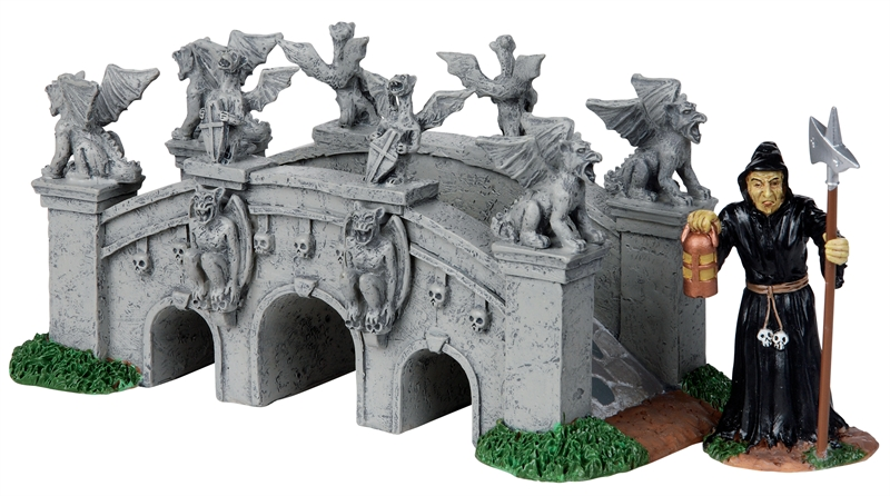 Terror Bridge, Set Of 2 Lemax Village