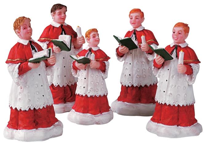 The Choir, Set Of 5 Lemax Village
