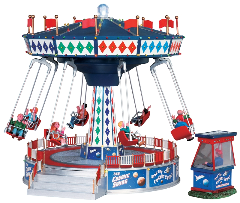 The Cosmic Swing, Set Of 2 Lemax Village