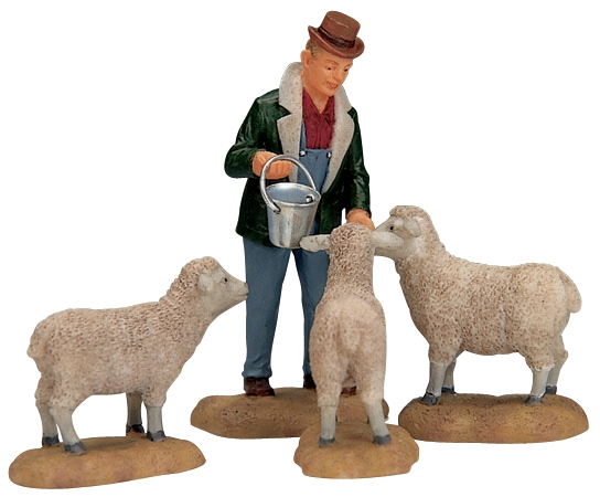 The Good Shepherd, Set Of 4 Lemax Village
