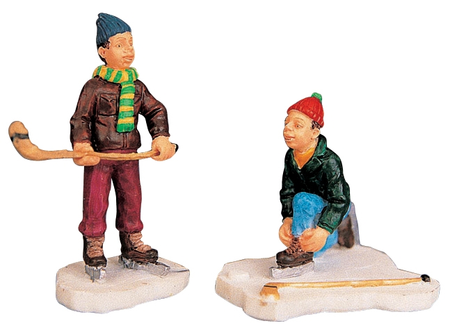Time Out, Set Of 2 Lemax Village