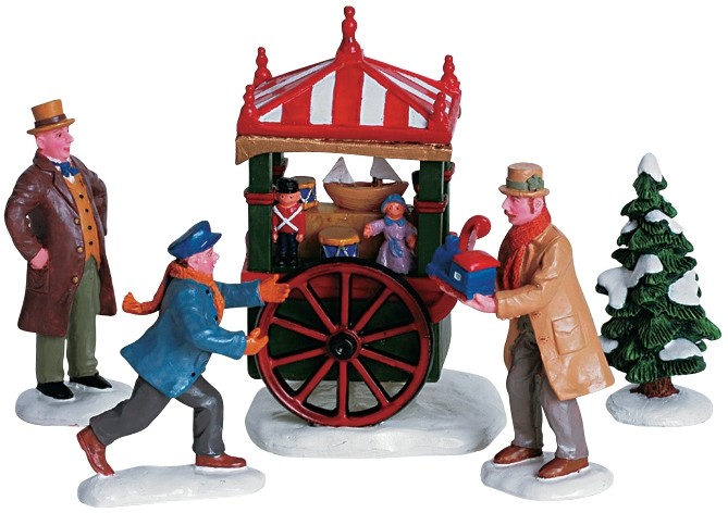 Toy Peddler, Set Of 5 Lemax Village