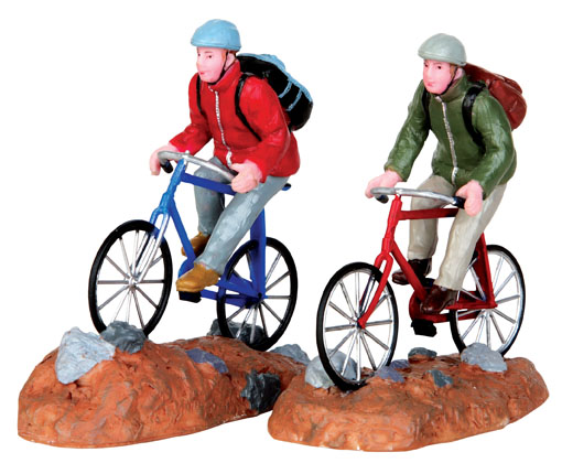 Trail Blazers  Set Of 2 Lemax Village