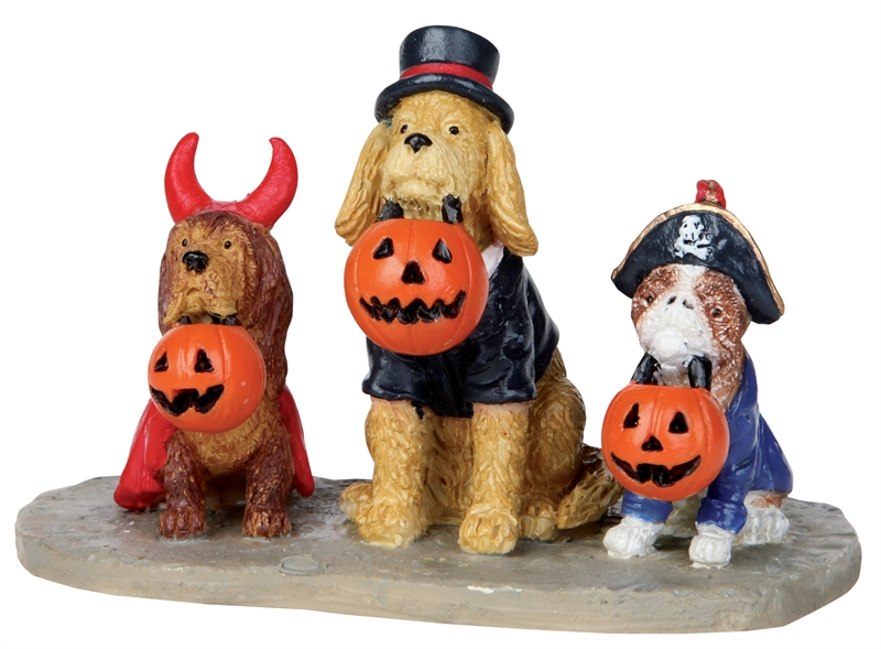 Trick Or Dog Treats Lemax Village