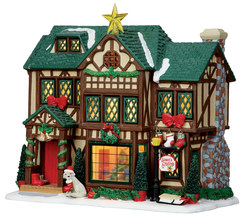 Tudor Style House Lemax Village