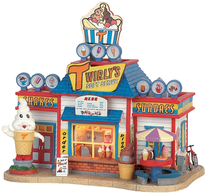 Twirly's Soft Serve Lemax Village