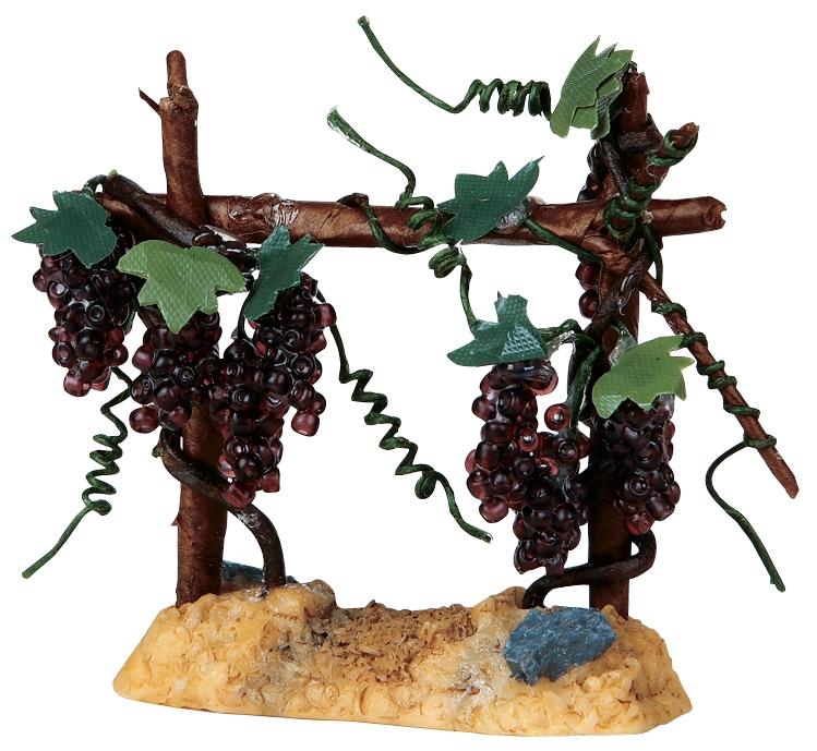Valley Vineyard Merlot Grapes Lemax Village