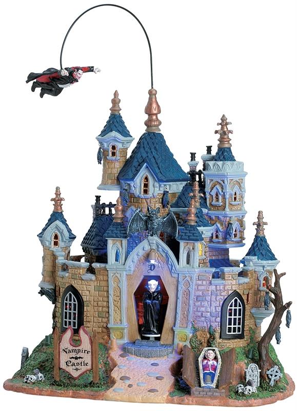 Vampire Castle Lemax Village