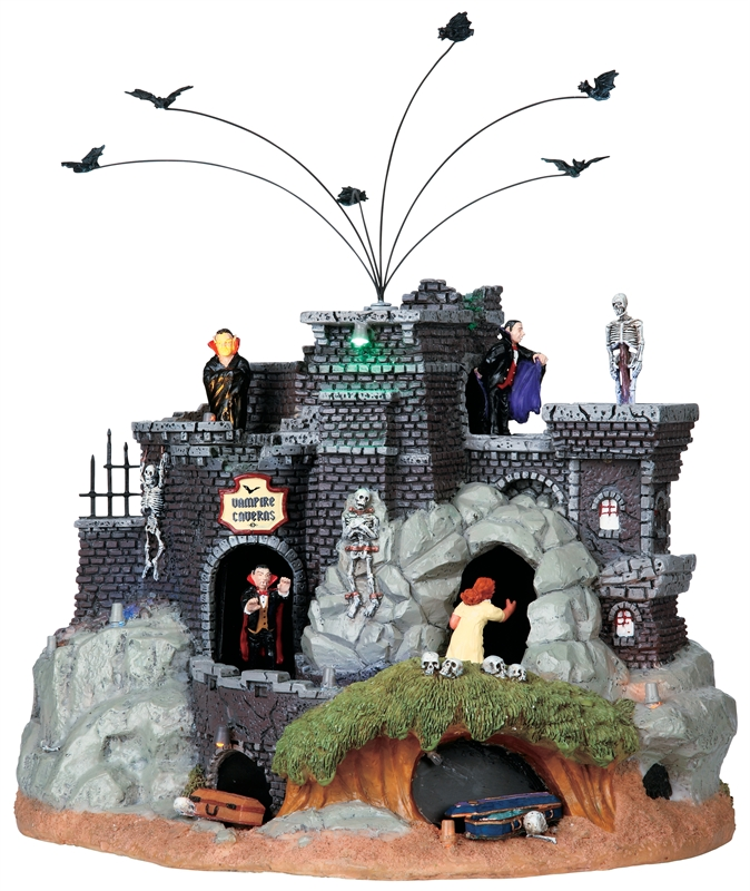 Vampire Caverns Lemax Village