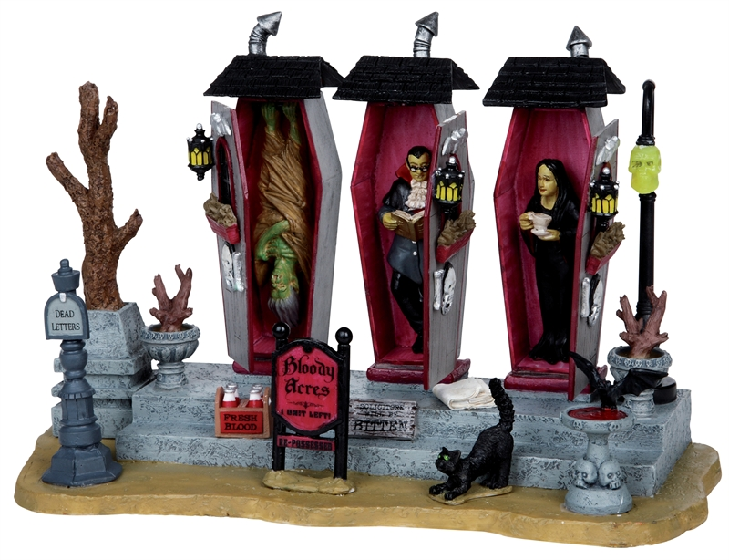 Vampire Condos Lemax Village