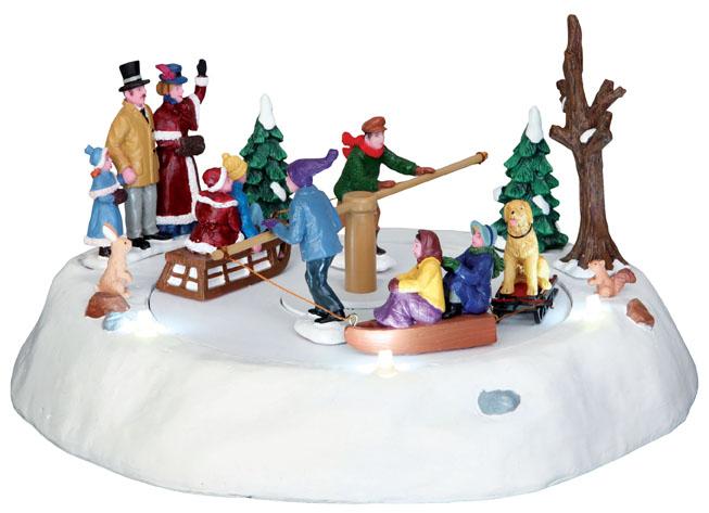 Victorian Ice Merry Go Round Lemax Village