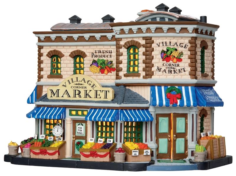 Village Corner Market Lemax Village