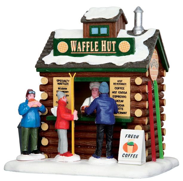 Waffle Hut Lemax Village