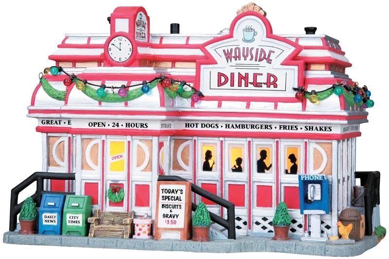 Wayside Diner Lemax Village