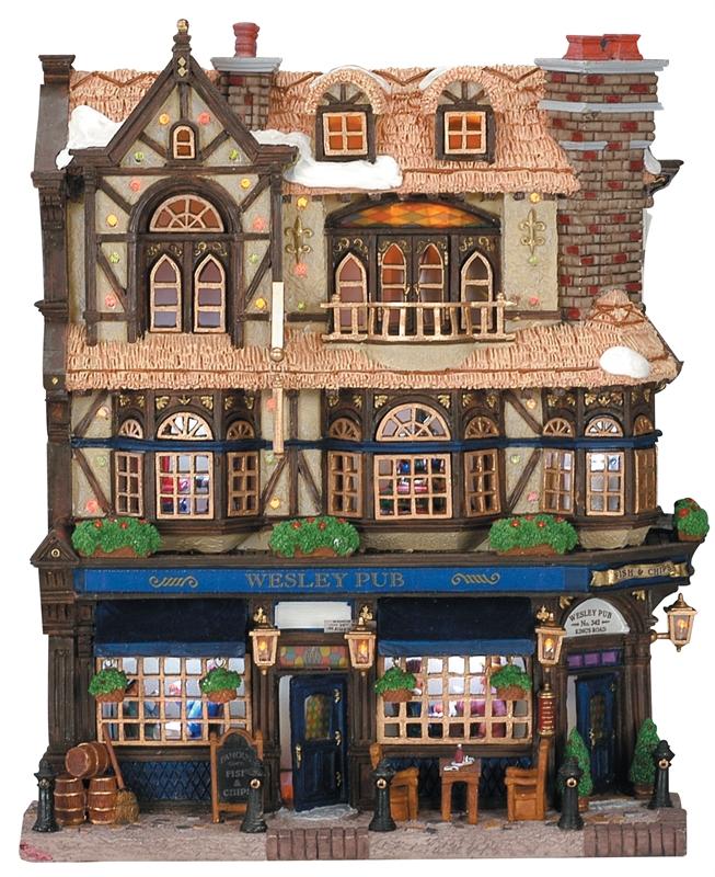 Wesley Pub Lemax Village