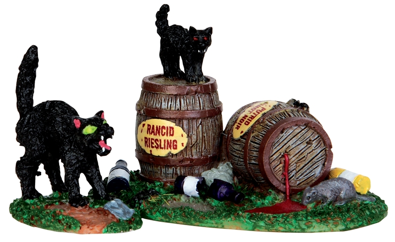 Wine Barrels, Set Of 2 Lemax Village