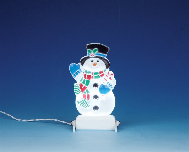 Yard Light - Snowman Lemax Village