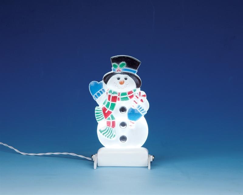 Yard Light - Snowman Lemax Village