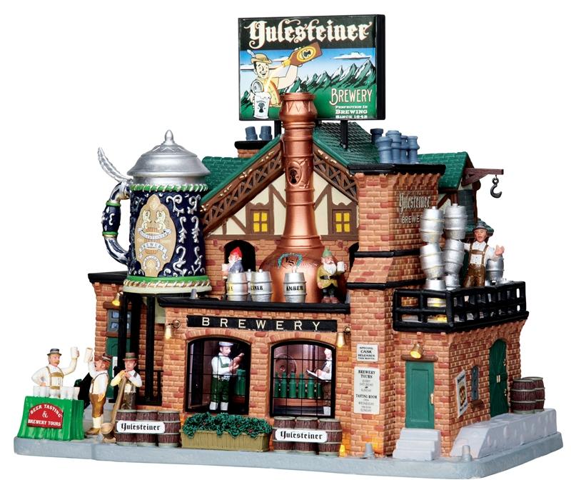 Yulesteiner Brewery Lemax Village