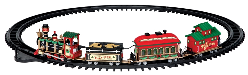 Yuletide Express, Set Of 16 Lemax Village